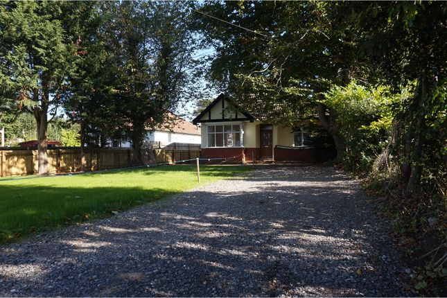 Detached bungalow for sale in Coombe Lane, Stoke Bishop, Bristol