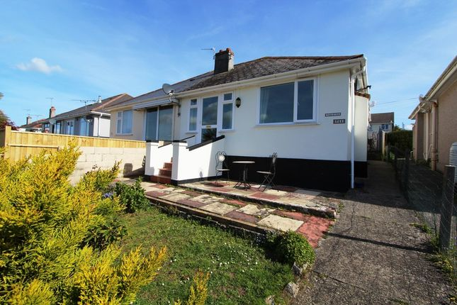 Thumbnail Semi-detached bungalow for sale in Carbeile Road, Torpoint