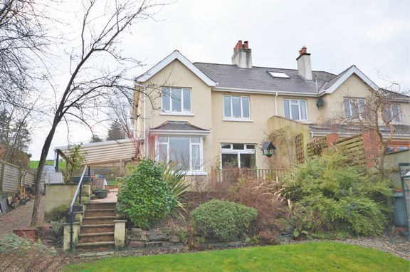 Thumbnail Semi-detached house for sale in Rackenford Road, Tiverton