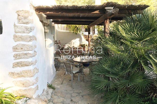 Pergola Terrace of Santa Gertrudis De Fruitera, Ibiza, Balearic Islands, Spain