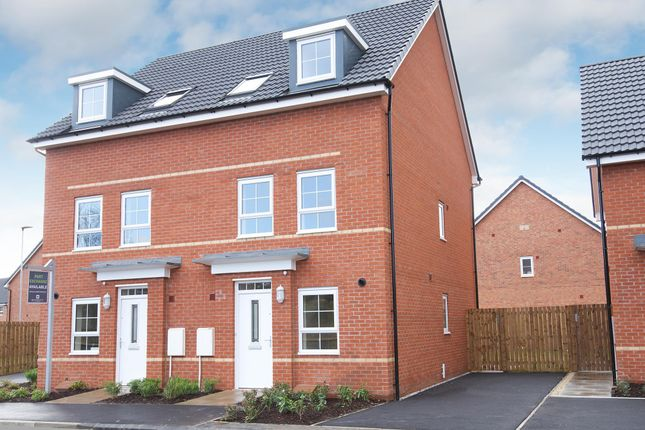 "Thumbnail End terrace house for sale in ""Padstow"" at Station Road, Methley, Leeds"