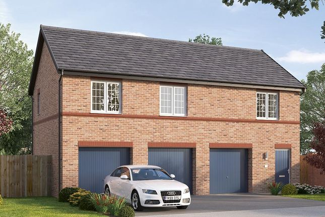 "Thumbnail Flat for sale in ""The Elmbridge"" at Steeplechase Way, Market Harborough"
