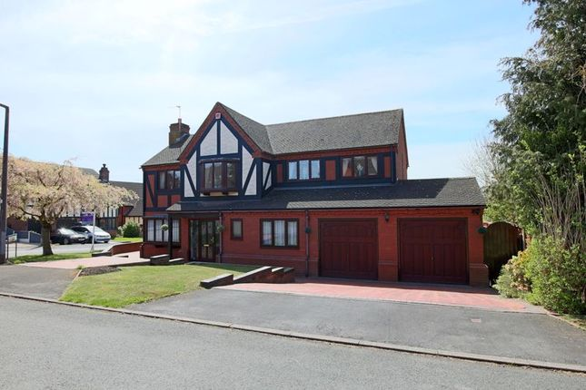 Thumbnail Detached house for sale in Terrington Drive, Clayton, Newcastle-Under-Lyme