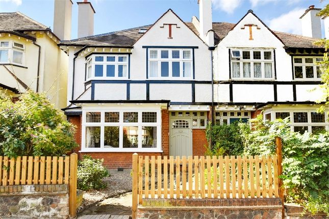 Thumbnail Semi-detached house for sale in Elgin Road, Muswell Hill Borders, London