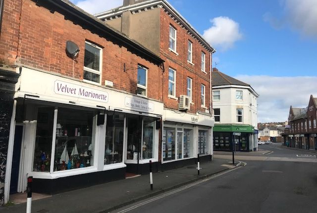 Retail premises to let in High Street, Exmouth