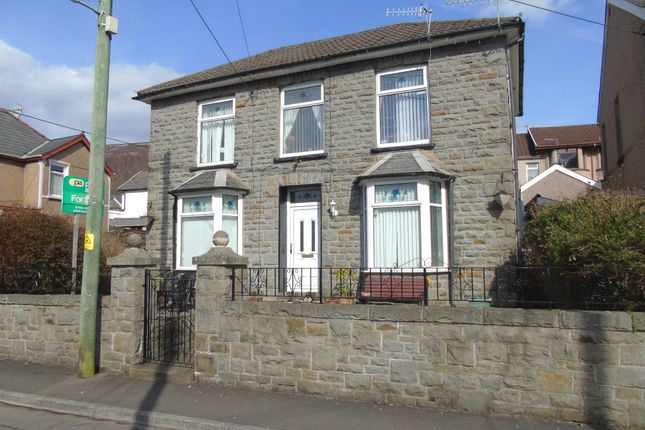 Thumbnail Detached house for sale in Campbell Terrace, Mountain Ash