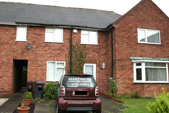 Thumbnail Terraced house to rent in Gilbert Close, Wolverhampton