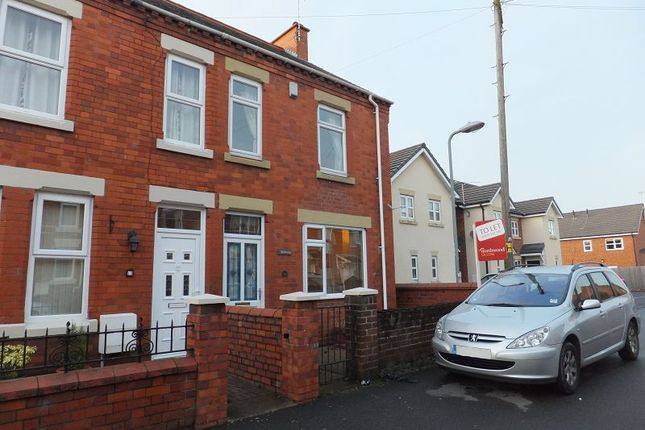 Thumbnail Semi-detached house to rent in Offa Street, Johnstown, Wrexham