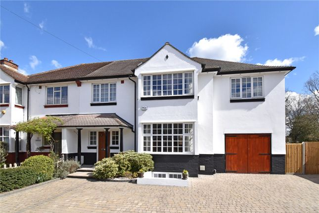 Thumbnail Semi-detached house for sale in Hill Brow, Bromley