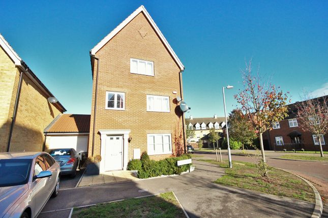 Thumbnail Detached house for sale in Jackdaw Drive, Stanway, Colchester