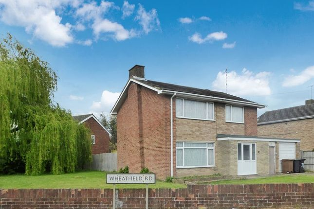 Thumbnail Detached house to rent in Wheatfield Road, Luton