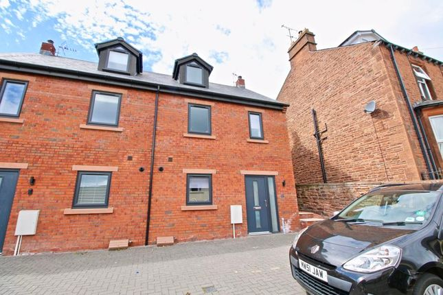 Thumbnail Terraced house for sale in 1 Hackberry Bank, Elm Terrace, Penrith