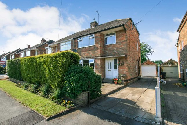 Thumbnail End terrace house for sale in Longcroft Road, Dronfield Woodhouse, Derbyshire