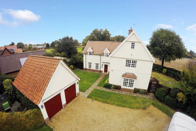 Thumbnail Detached house for sale in Link Lane, Bentley, Ipswich, Suffolk