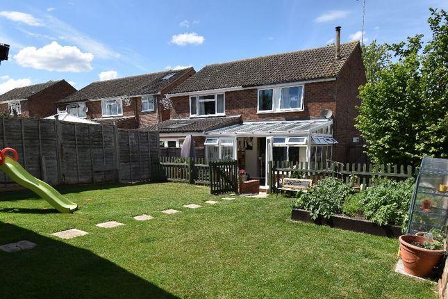 Thumbnail Semi-detached house for sale in Kings Meadow, Kedington, Haverhill