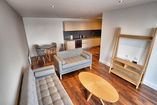 Thumbnail Flat to rent in Wilburn Wharf, Rivergate House, Salford