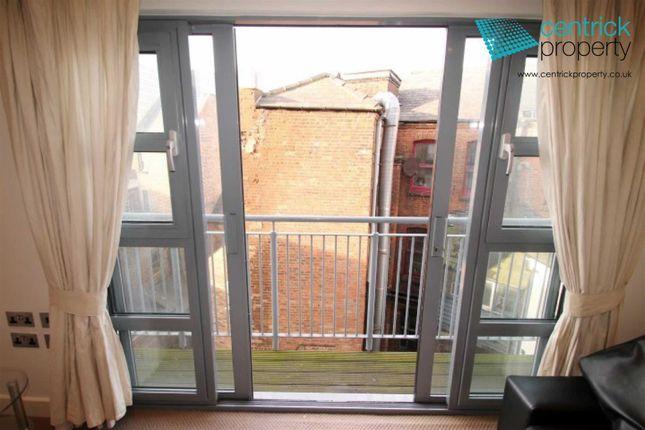 Juliette Balcony of Castle Exchange, 41 Broad Street, Nottingham NG1