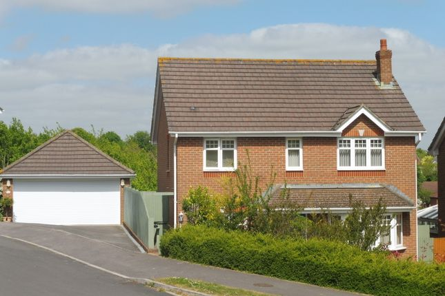 Thumbnail Detached house for sale in Lime Kiln Way, Salisbury