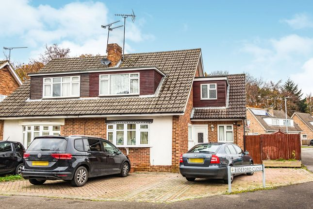 Thumbnail Semi-detached house to rent in Bideford Close, Woodley, Reading