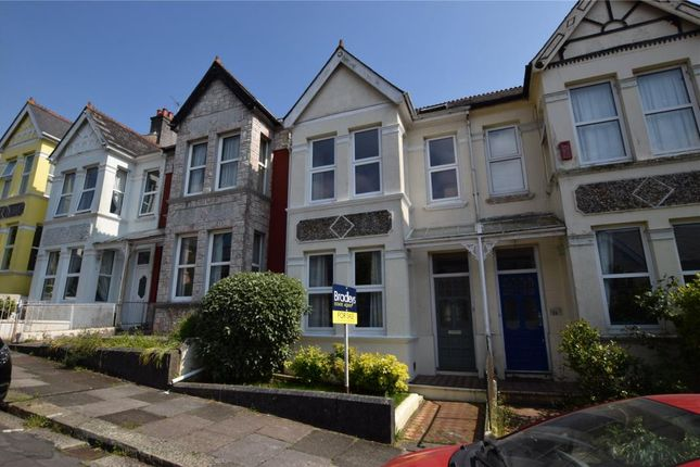 Thumbnail Terraced house for sale in Edgcumbe Park Road, Plymouth, Devon