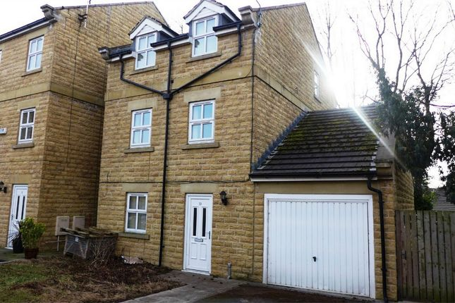 Thumbnail Detached house to rent in Wellfield Mews, Staincliffe, Dewsbury, West Yorkshire