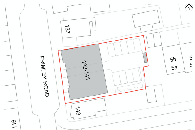 Thumbnail Land for sale in Frimley Road, Camberley