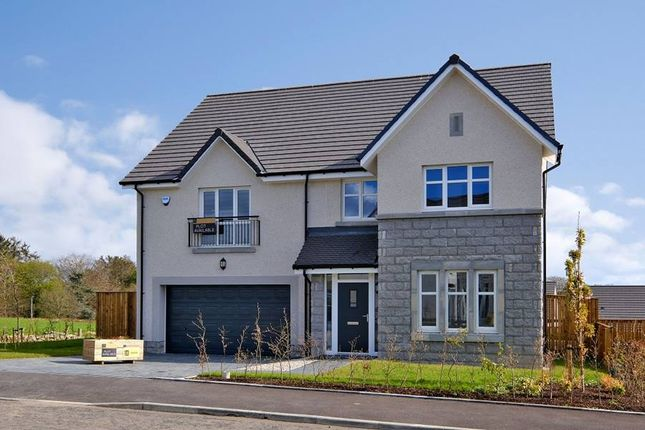 "Thumbnail 5 bedroom detached house for sale in ""The Lewis - Plot 6"" at Balhalgardy Rise, Inverurie"