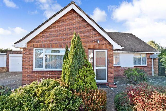 Thumbnail Detached bungalow for sale in Kirkland Close, Rustington, West Sussex