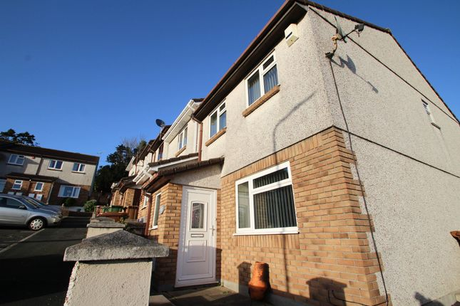 Thumbnail End terrace house to rent in Coombe Way, Plymouth