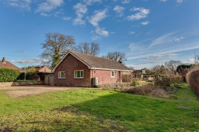 Thumbnail Bungalow for sale in Swanton Novers, Melton Constable, Norfolk