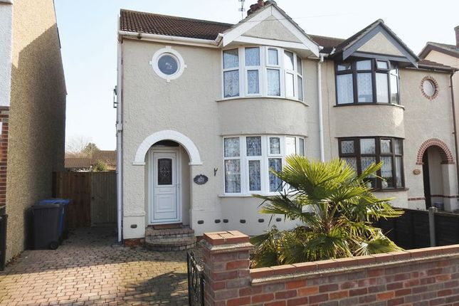 Thumbnail Semi-detached house to rent in Walmer Road, Pakefield, Lowestoft