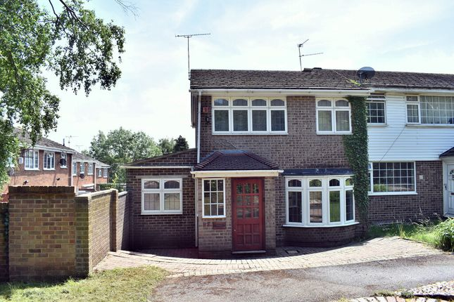 Thumbnail End terrace house to rent in Broadway, Gillingham, Kent