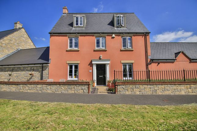 Thumbnail Link-detached house for sale in Merton Green, Caerwent, Caldicot