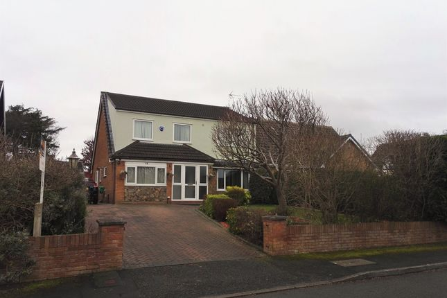 Thumbnail Detached house for sale in Castle Park Avenue, Connah's Quay, Deeside
