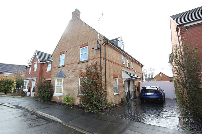 Thumbnail Detached house for sale in Loughland Close, Blaby, Leicester, Leicestershire