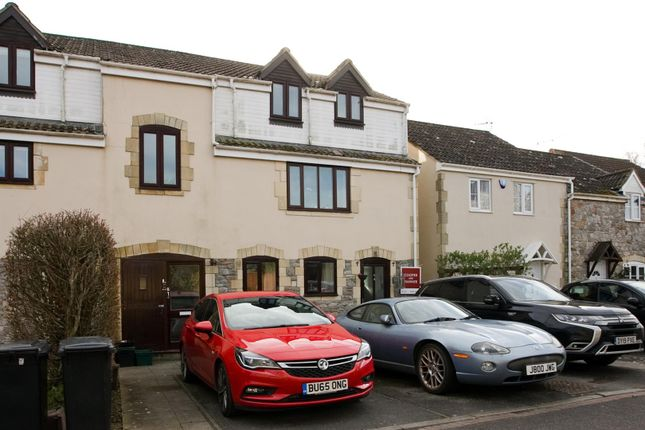 Thumbnail Flat for sale in Old Station Close, Cheddar