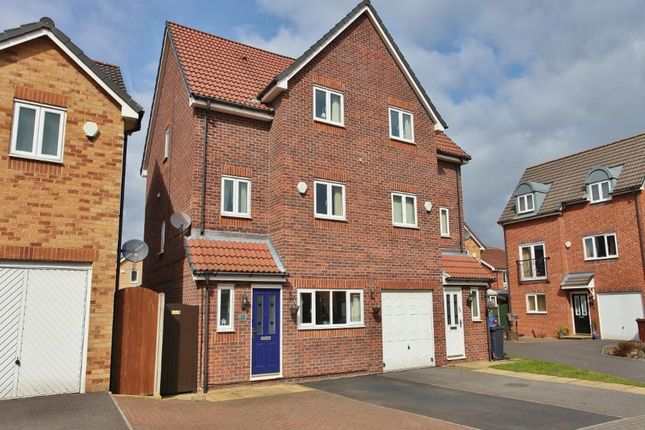 Thumbnail Semi-detached house for sale in Haverhill Grove, Wombwell, Barnsley