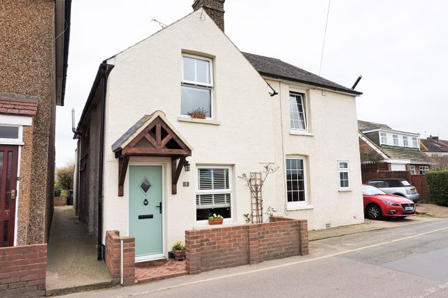 Thumbnail Semi-detached house for sale in Chalk Road, Rochester