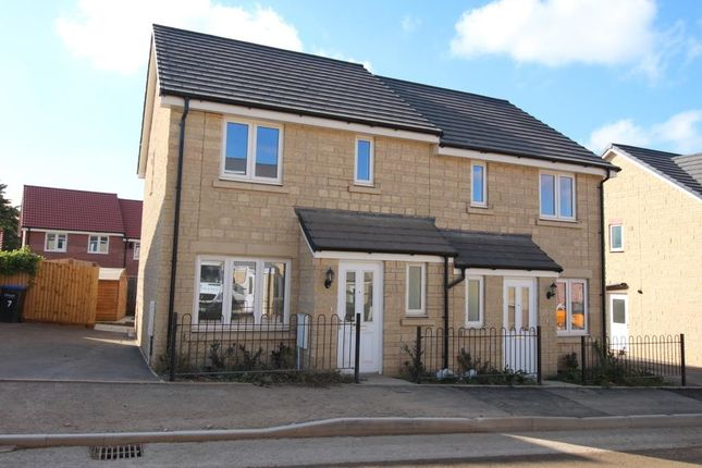 Thumbnail Semi-detached house for sale in Ramsay Road, Calne