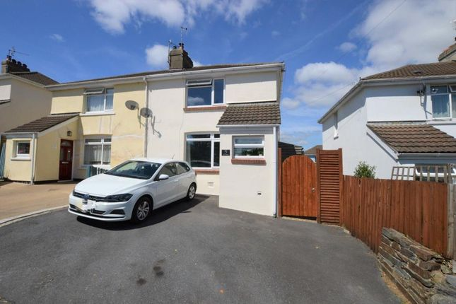 Thumbnail Semi-detached house for sale in Elm Bank, Buckfastleigh, Devon