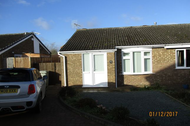 Thumbnail Bungalow to rent in Dove Close, Oakham