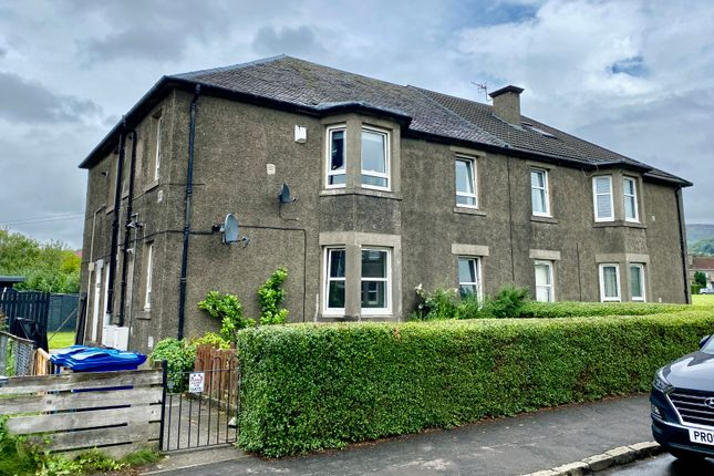 3 bed flat for sale in Millburn Road, Dumbarton, West Dunbartonshire G82
