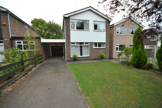 Thumbnail Detached house for sale in Elmfield Avenue, Leicester