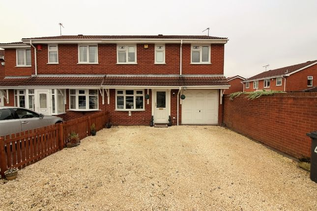 Thumbnail Semi-detached house for sale in Redwood Way, Willenhall