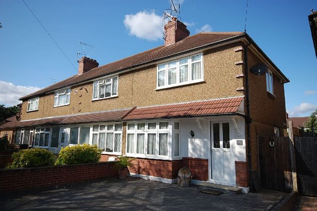 Thumbnail End terrace house to rent in Briar Road, Watford