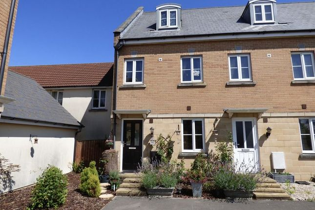 Thumbnail Town house for sale in Worle Moor Road, Weston-Super-Mare