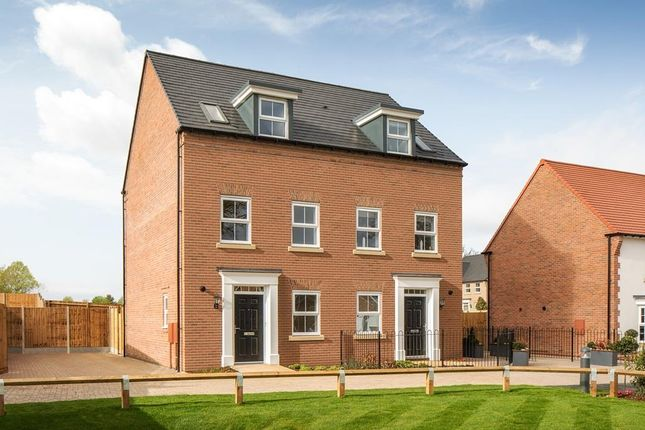 "Thumbnail Semi-detached house for sale in ""Greenwood"" at Warkton Lane, Barton Seagrave, Kettering"