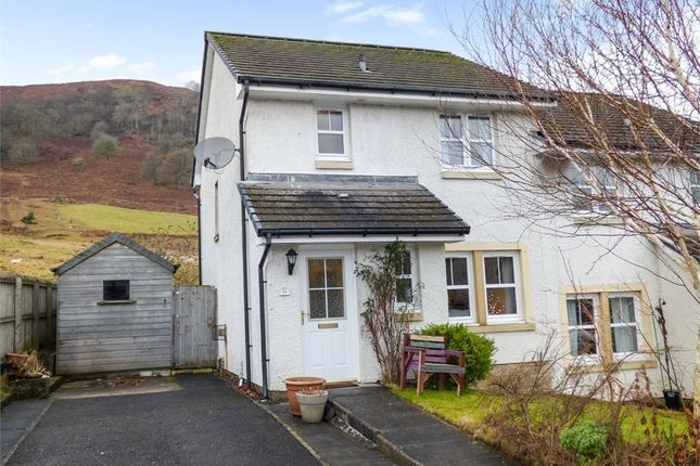 Thumbnail Semi-detached house for sale in Fingal Road, Killin, Stirling