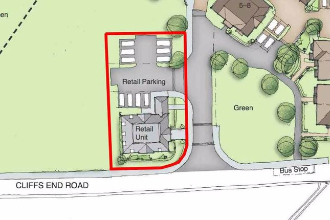 Thumbnail Retail premises for sale in Commercial Development Site, Cliffsend Road, Ramsgate