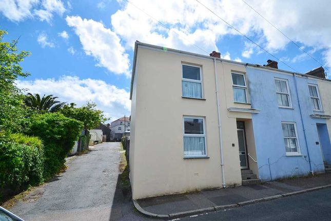 Thumbnail End terrace house for sale in Polwhaveral Terrace, Falmouth